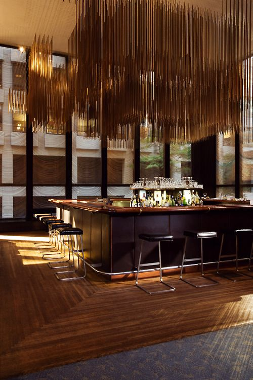 Tgphipps created in 1958 for the four seasons restaurant at the seagram building in new