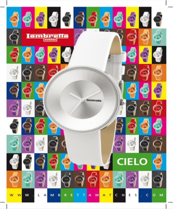 Relojes Lambretta Colección Cielo, un color para cada Look