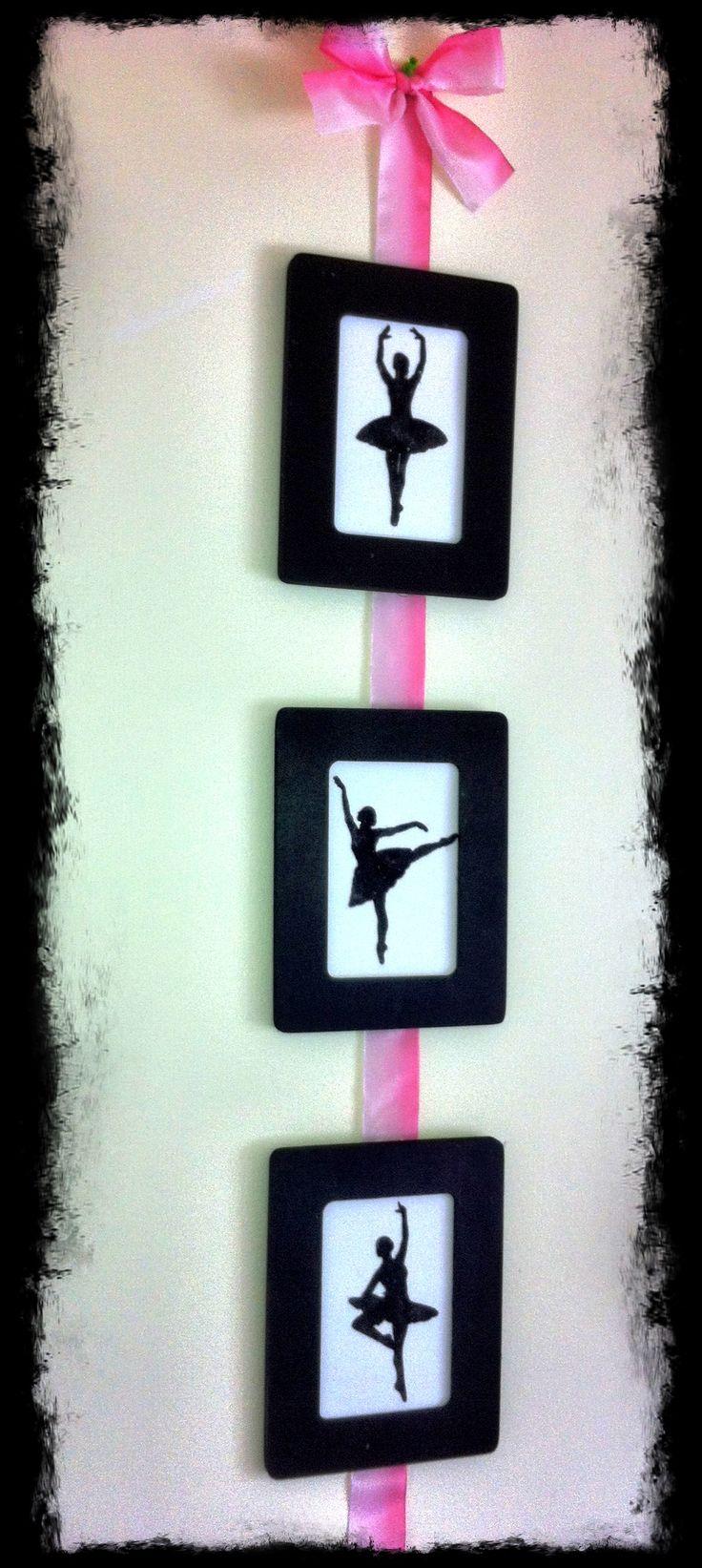 Dance decor using the Silhouette Cameo..project ideas  dance, cheer, gymnastics  etc.