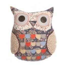 Navy Owl Cushion £19.50
