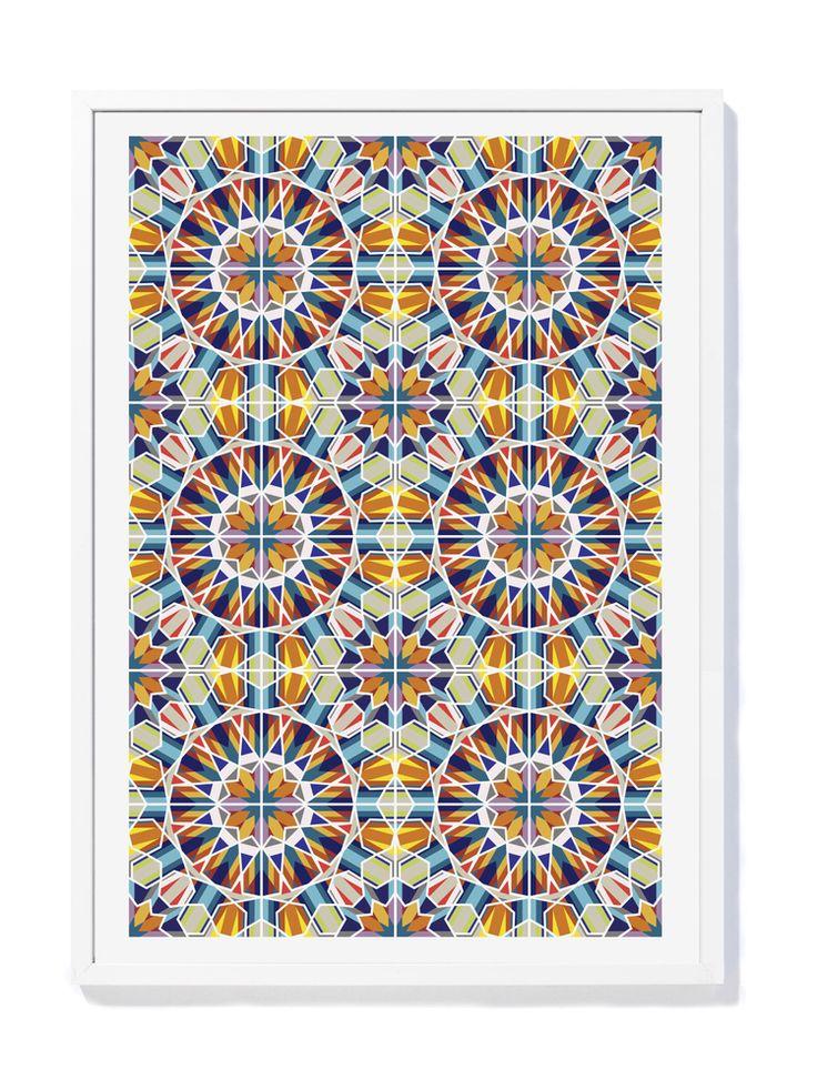 David David® — A1 Carousel Wall print