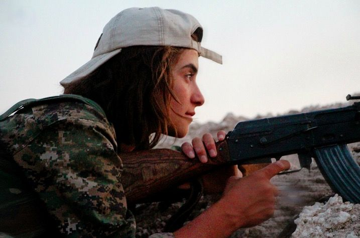 """#teaparty #union #occupy #p2 #tlot #tcot #FSA #Kurd #Baloch   Three Women Are Taking The Fight To ISIS' Doorstep   http://aplus.com/a/women-fighting-isis-pkk-ypj   ...""""I wanted to let them know that their worst nightmare had come true,"""" she said. """"Their friend had been killed by a woman.""""..."""