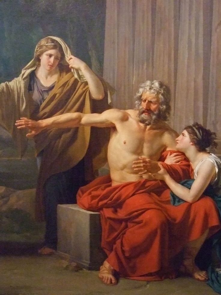 the greek myth of oedipus and his prophecy Oedipus's tragic flaw is gained once he obtained his greatness and became king oedipus's knowledge contained arrogance, and a metaphorical blindness that fosters his urge for the truth.