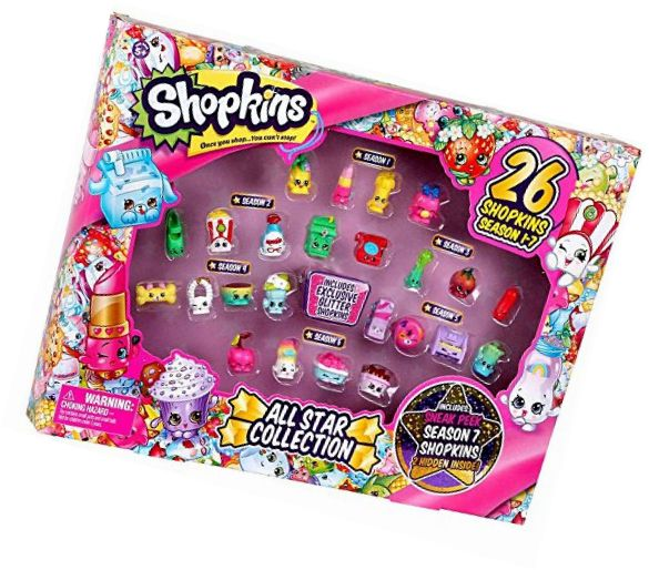 Other TV Movie Character Toys 2622: Shopkins All Star Collection Season 1-7 -> BUY IT NOW ONLY: $35.24 on eBay!