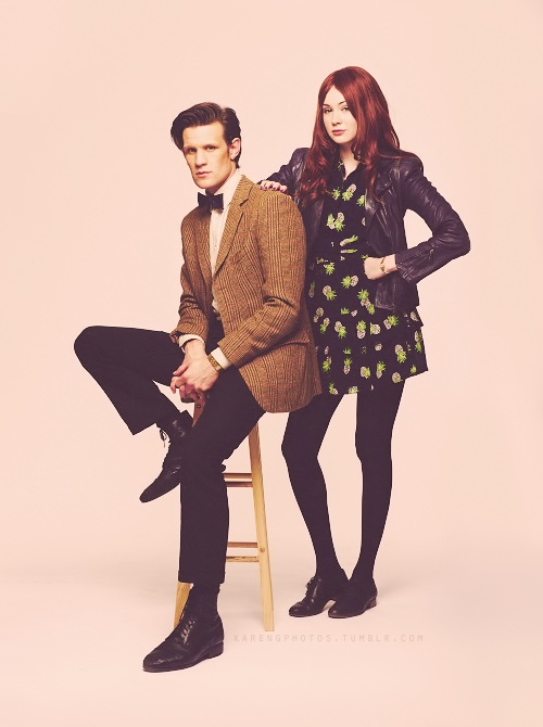 Matt Smith + Karen Gillan