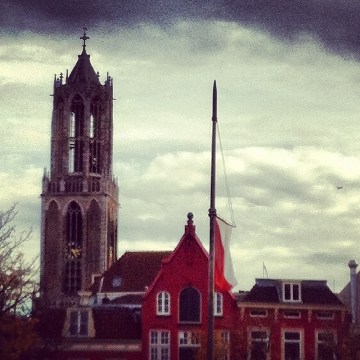 Utrecht's famous 'Dom' tower #pinyourcity