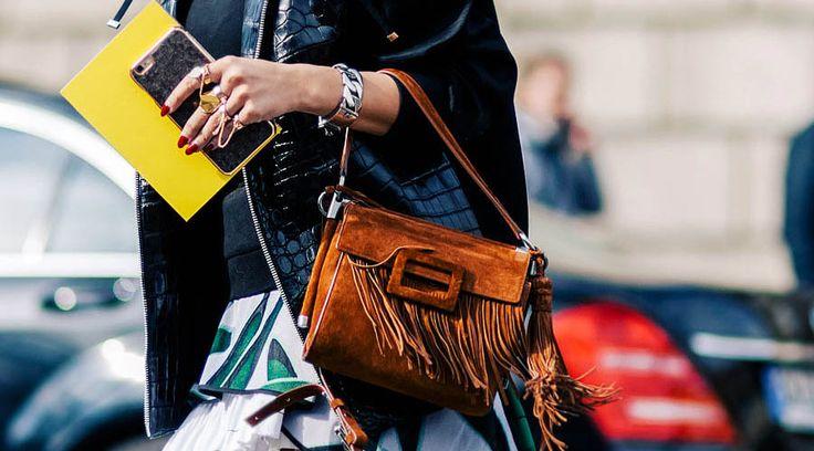 Bolsos con flecos para el próximo Otoño - http://www.bezzia.com/bolsos-con-flecos-para-el-proximo-otono/