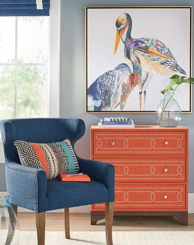 Fine feathers make fine birds (and fine art, too). Our Colorized Birds flaunt a mosaic of gorgeous hues and texture, an artful approach to this otherwise awkward pair.