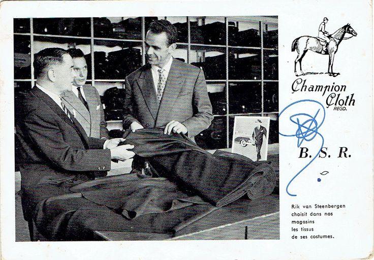 Rik van Steenbergen - Champion Cloth B.S.R.