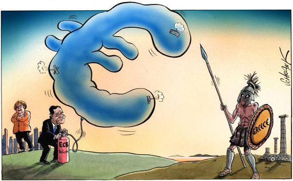 ΕΙΚΟΝΑ---Ελλάδα,-ΕΚΤ,-Γερμανία,-χρέος