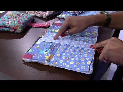 Passo a Passo Estojo Escolar - Ateliê Cris Ramos - YouTube