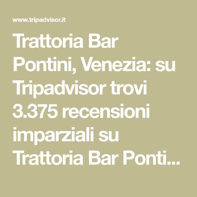 Trattoria Bar Pontini Venezia Su Tripadvisor Trovi 3 375 Recensioni Imparziali Su Trattoria Bar Pontini Con Punteggio 4 5 Su 5 E Al N 5 Trattori Venezia Bar