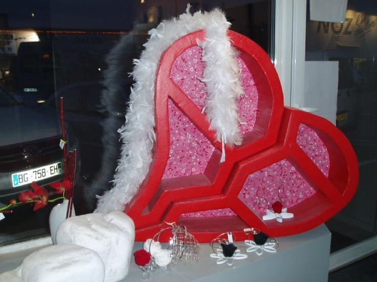 7 best images about st valentin on pinterest - Deco vitrine st valentin ...