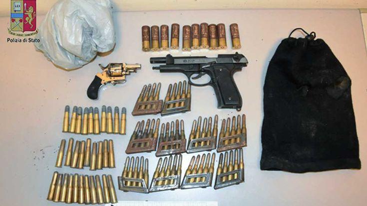Messina - Rinvenute e sequestrate armi e munizioni - http://www.canalesicilia.it/messina-rinvenute-sequestrate-armi-munizioni/ Messina, munizioni e armi, Polizia