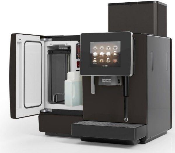 The FRANKE A600 Coffee Machine is an excellent all-around top performer, making coffee exactly the way you like it. The A600 coffee maker comes with a milk frother. The selection of beverages can be set individually and adapted precisely to your requirements. You can select beverages from the touch screen panel, individually and adapted precisely to your taste.    #Coffee4Business #OfficeCoffee #CoffeeMachine #Coffee   #CorporateCoffee #CorporateCoffeeSolutions