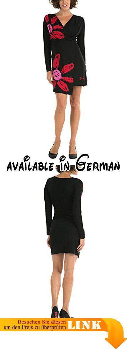 Desigual Damen Dekolletiertes Kleid VEST_REPLI, Gr. 32/XXS (Herstellergröße: XS), Schwarz (Negro 2000).  #Apparel #DRESS
