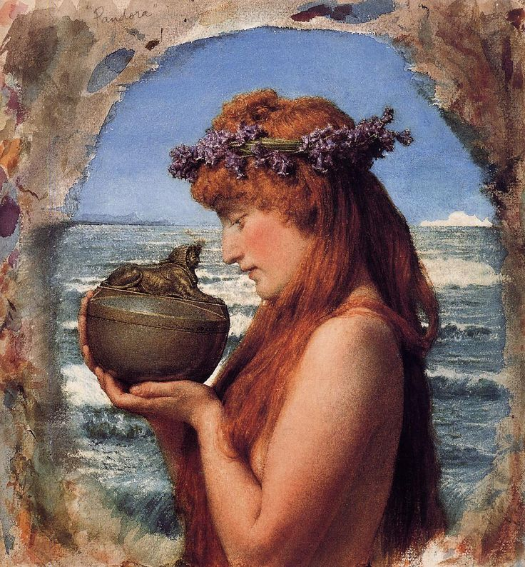 Pandora - Sir Lawrence Alma-Tadema