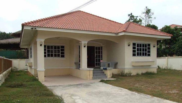 Fachadas de casas peque as y compactas fachada de casa for Casa moderna jardin d el menzah