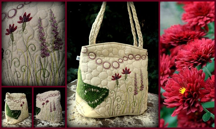 Embroidered bag by ZerVir