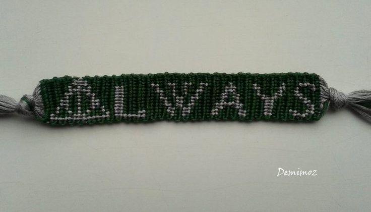 Always - Harry Potter  bransoletka z muliny