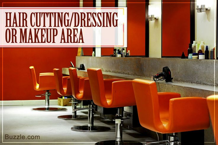 hair-cut and make-up area