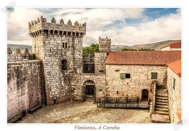 Castillo de Vimianzo, La Coruña - Spain