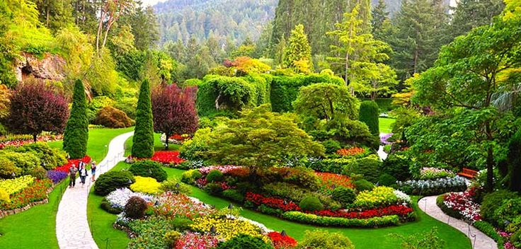 Butchart Gardens – pageant of colors and scents
