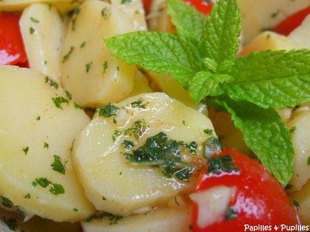 salade de pommes de terre comme là-bas dit