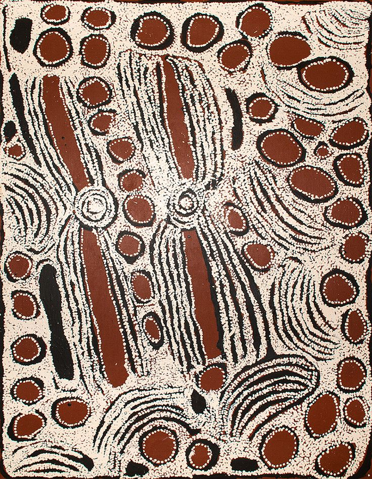 Ningura Napurrula - Ancestral women ceremonies - Wirrulnga rockhole http://www.aboriginalsignature.com/art-aborigene-papunya-tula/ningura-napurrula-ancestral-women-ceremonies-wirrulnga-rockhole