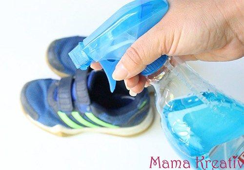 sneakers kinderschuhe sauber machen