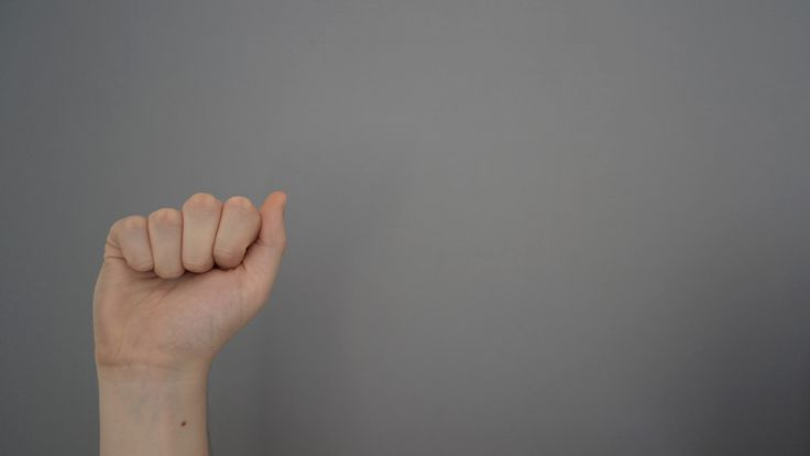 CLICK > Web index by hand sign language