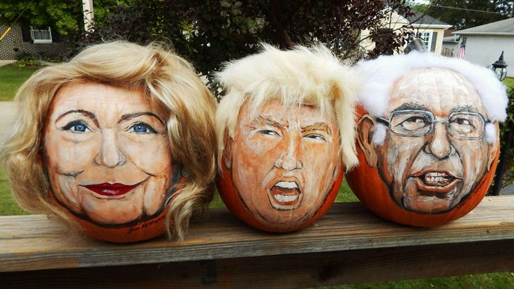 What started out as a $5 pumpkin from Walmart became a viral Internet sensation after an Illinois man painted Donald Trump's face on the pumpkin and dubbed it 'Trumpkin.'   John Kettman, of La Salle, Illinois...
