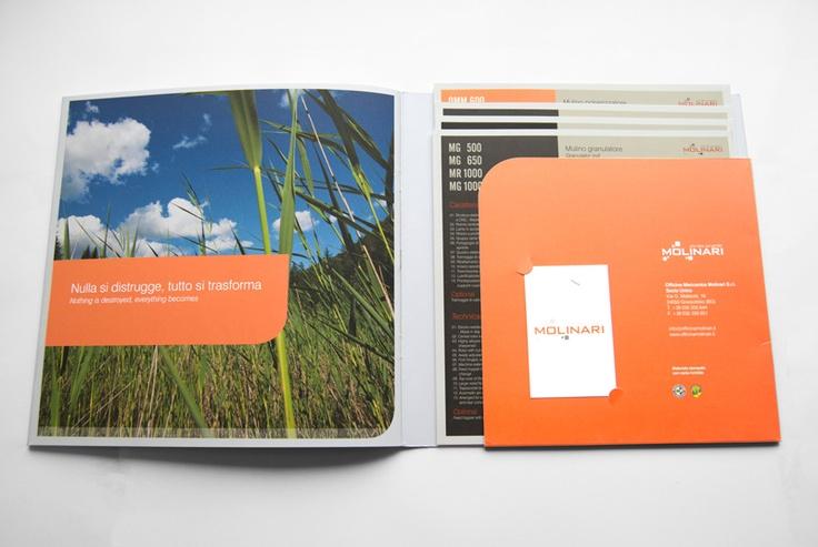 promo brochure with custom agenda/topic inside