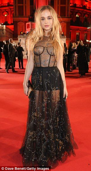 Stun in an embellished skirt like Lady Amelia's by Christian Dior #DailyMail