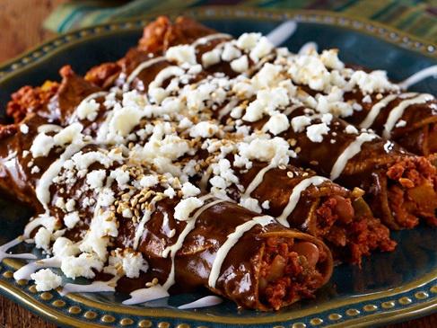 """Enmoladas-""""Mole Enchiladas"""
