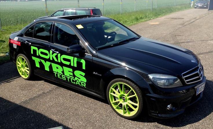 """Ultraleggera HLT 19"""" on Mercedes C63 AMG testing Nokian Tyres #OZRACING #ITECH #ULTRALEGGERA #HLT #RIM #WHEEL"""