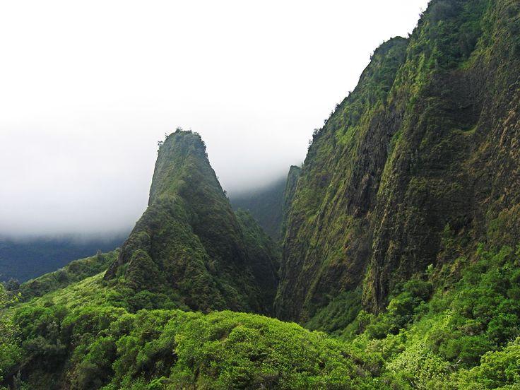 Iao Needle, Iao Valley, Maui, Hawaii