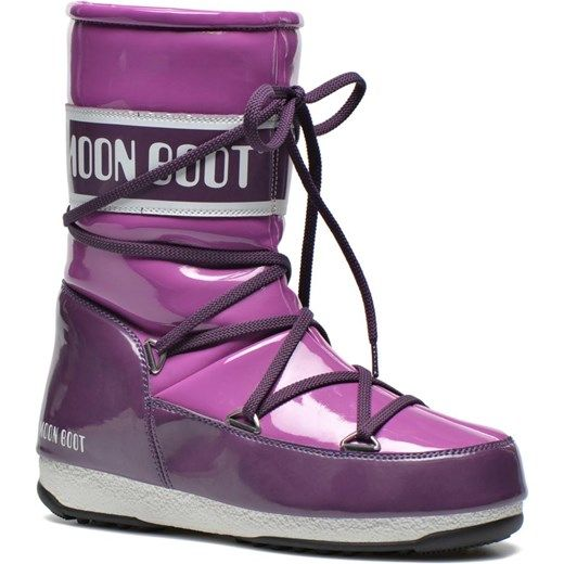 Buty sportowe Moon Boot Puddle Jumper Mid 2 sarenza fioletowy Botki