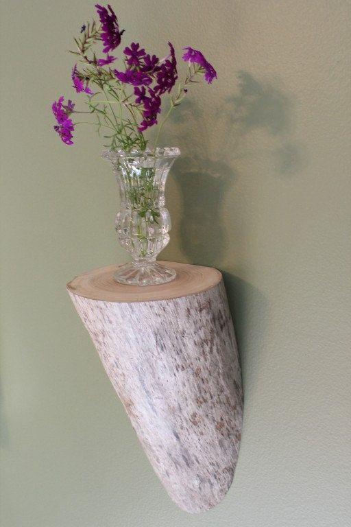 Driftwood Shelf, Drift Wood Shelf, Shelf, Wood Shelf, Corbel, Shelf 13. 35.00, via Etsy.