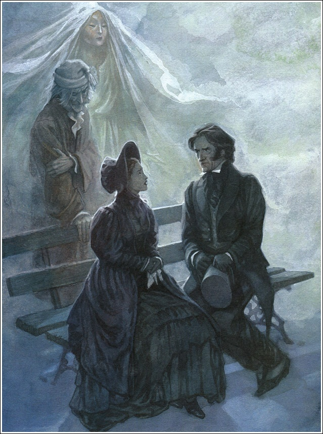 | Charles Dickens | {A Christmas Carol} Illustrator P. J. Lynch.
