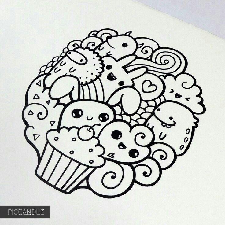 doodle simple drawings easy