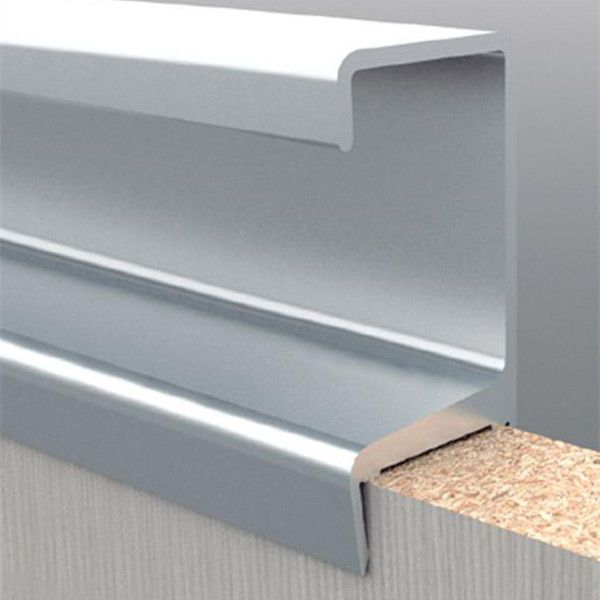Aluminium Extrusion Profile For Modern Kitchen Cabinet Frame