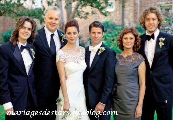 Eva Amurri Susan Sarandon Tim Robbins Wedding Mother Of The Bride Mob Dresses
