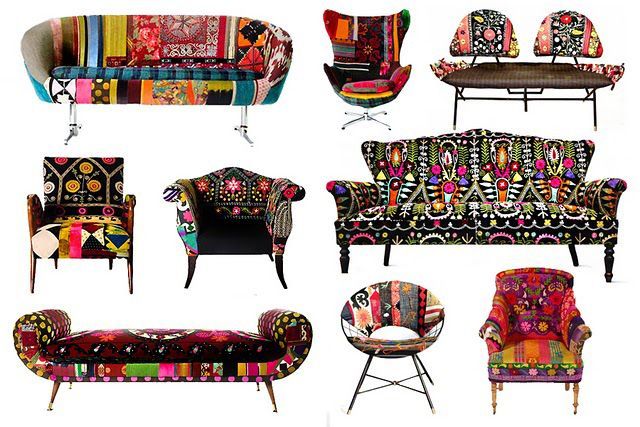 amazing reupholstered furniture: Decor, Ideas, Middle Eastern, Bokja, Chairs, Colors, Textiles, Funky Furniture, Design