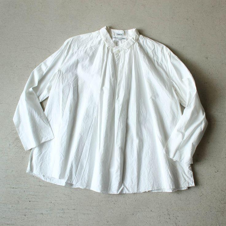 Big Tuck Shirt #white