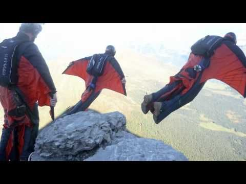 Our most popular BASE jumping video where we fly our wingsuits from the mushroom on the north face of the Eiger raising awareness for Help For Heroes and The Royal British Legion.
