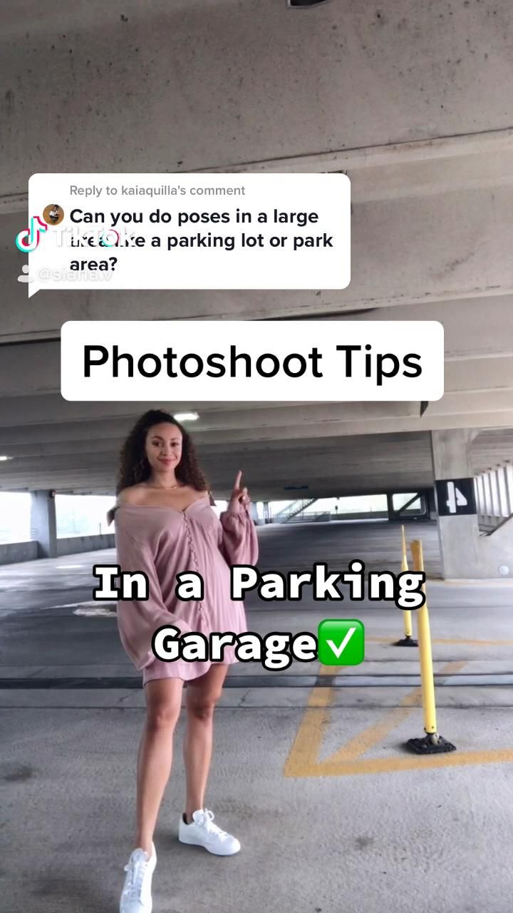 Parking Garage Photoshoot Video Rooftop Photoshoot Model Poses Photography Photo Shoot Tips