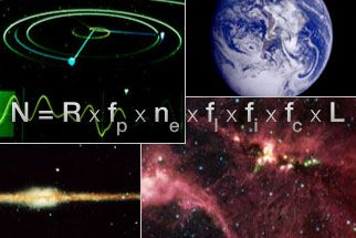 Drake Equation - Considerable disagreement on the values of most of these parameters exists. Drake states that given the uncertainties, there are probably between 1000 and 100,000,000 civilizations in the galaxy. {Wikipedia}