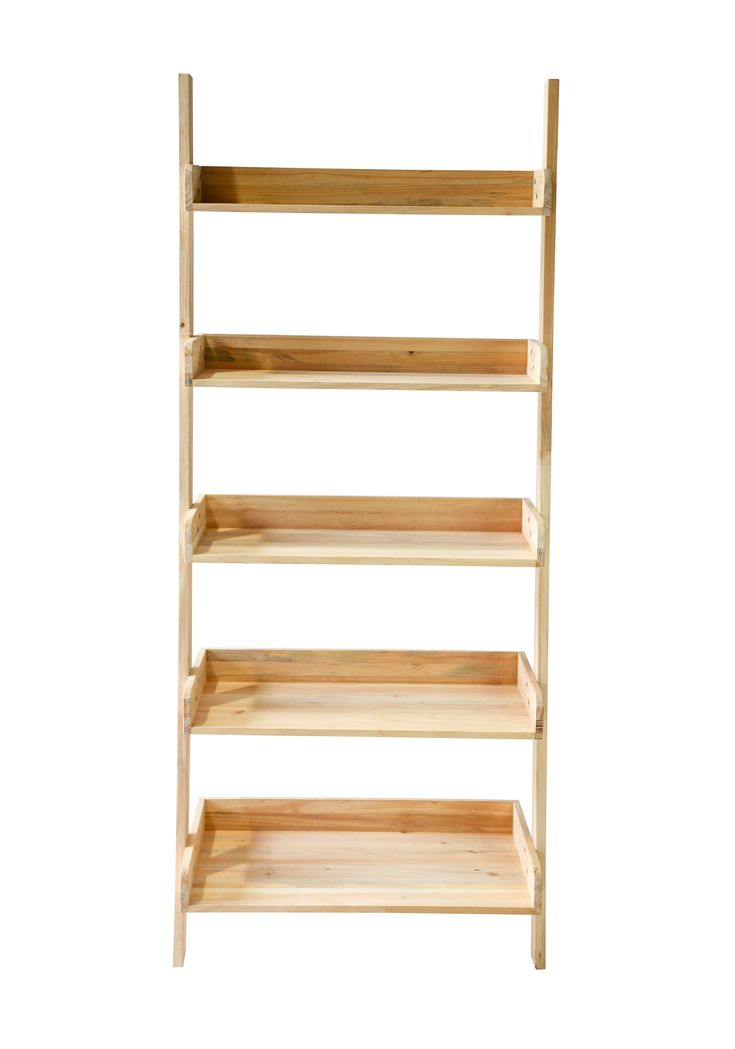 St. Paul Ladder Shelf - Industrial Transitional Rustic / Folk Bookcases & Étageres - Dering Hall