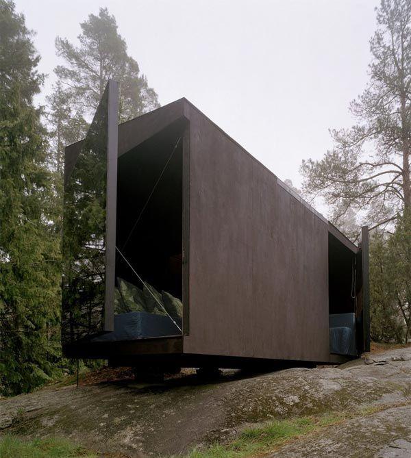 Tiny metal modern box: Summer Cabin 4:12